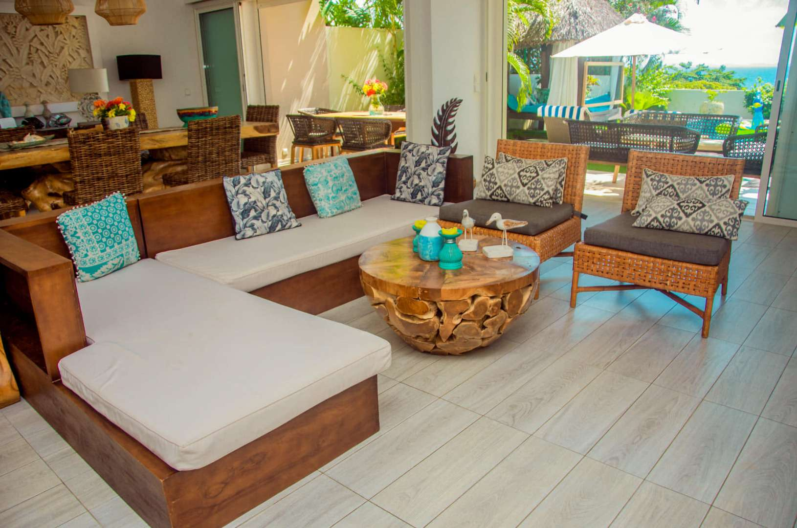 Appartement belle vue sur mer avec piscine