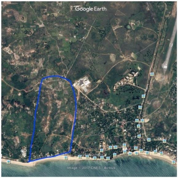 Terrain pour projet immobilier à Majunga