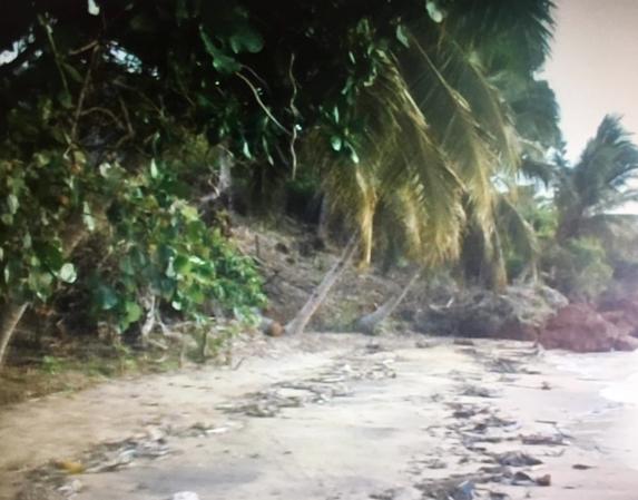Terrain en bord de plage complètement en ordre juridiquement