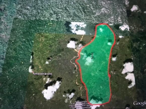 Terrain de 353 ha pour exploitation agricole à Vatomandry