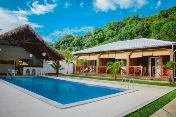 Maison d'hôte avec piscine