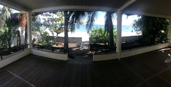 Location villa en front de l'océan