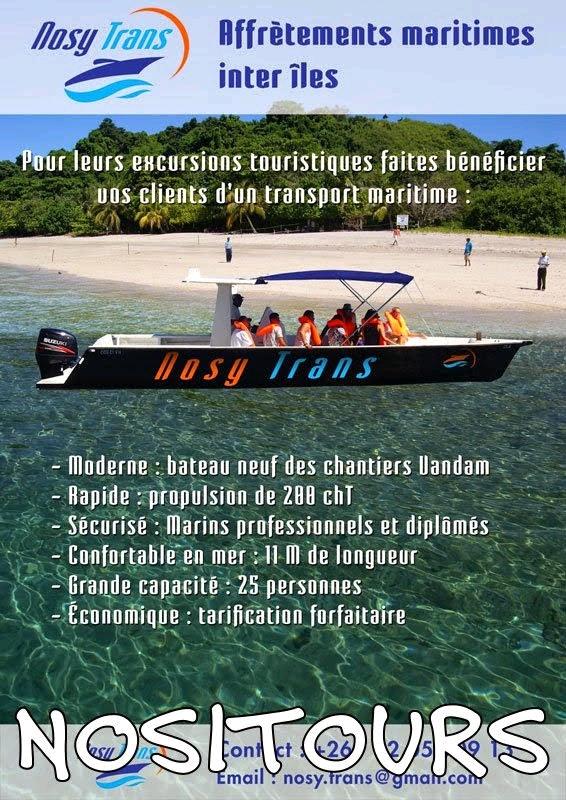 Location bateaux, transfert entre îles