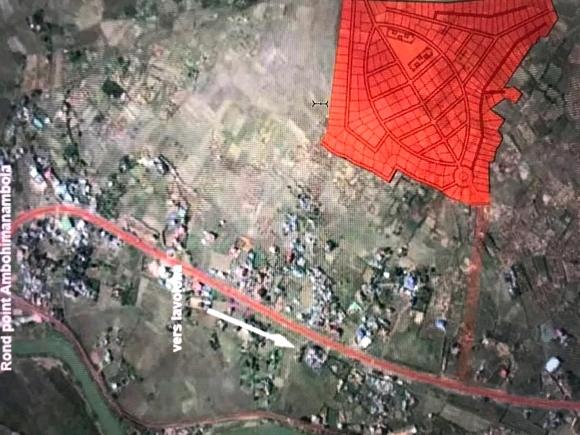 Terrain de 18 ha pour investisseur à Antananarivo Bypass Alasora