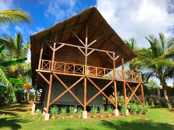 Charmante maison en bois en bord de plage
