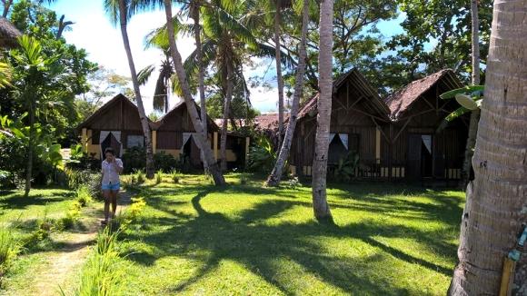 A louer, bungalow en bord de plage