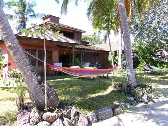 Résidence pour vacance, les pieds dans l'eau à Madirokely