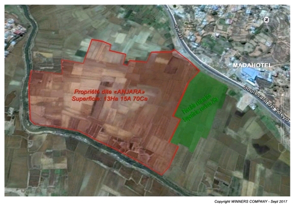 Terrain pour investisseur à Antananarivo