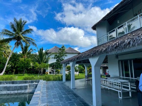 Charmante propriété avec piscine situé en bord de plage