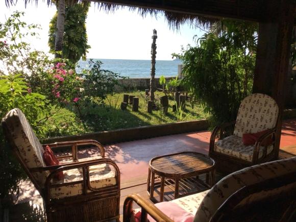 Superbe villa de vacance  située en bord de plage