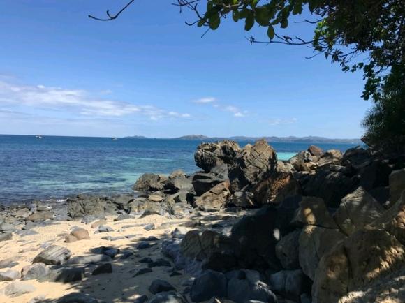 A vendre terrain bord de mer Nosy Komba